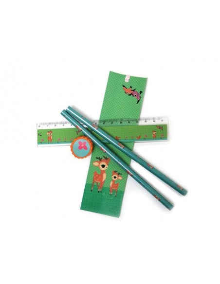Pencil Set Bambi With Child - Froy&Dind