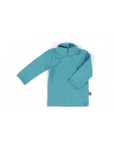 Shirt Turtleneck Greyblue - Froy&Dind