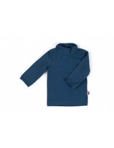 Shirt Turtleneck Nightblue - Froy&Dind