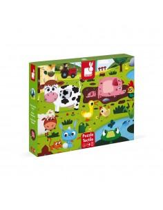 Voelpuzzel Farm Animals 20pcs - Janod