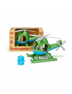 Helicopter Green - Green Toys