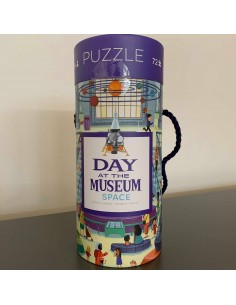 Puzzel Day At The Museum Space 72pcs - Crocodile Creek