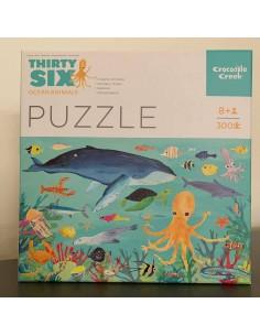 Puzzel 36 Ocean Animals 300 pcs - Crocodile Creek