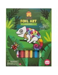 Foil Art Rainforest - Tiger Tribe