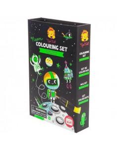 Kleurset Neon Outer Space - Tiger Tribe
