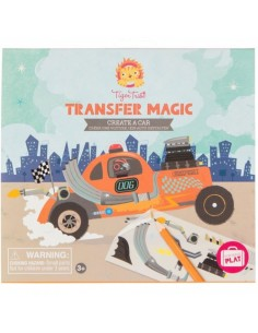 Transfer Magic Create A Car - Tiger Tribe