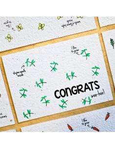 Wenskaart Thyme Congratz - Bloom