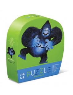 Puzzel Go Gorilla 12 pcs - Crocodile Creek