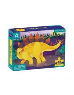 Mini Puzzel Stegosaurus 48pcs - Mudpuppy